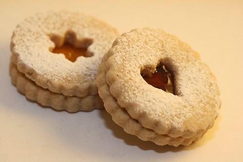 Linzer Cookies (Tuesdays with Dorie)