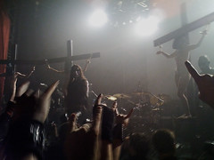 Gorgoroth (mithrandir3) Tags: black metal live crucifixion iphone gorgoroth blackmetal gaahl