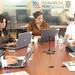 Asambleístas: María Paula Romo, Rosana Alvarado, Julio Logroño, Vicente Taiano, Nelson López y Felix Alcívar
