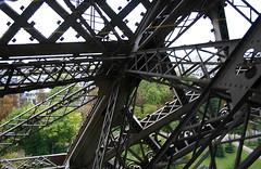 Eiffel Tower pilar construct