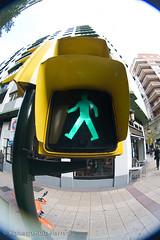 walk on (Berts @idar) Tags: calle centro zaragoza callejeando espaa peleng8mmfisheye canoneos400ddigital