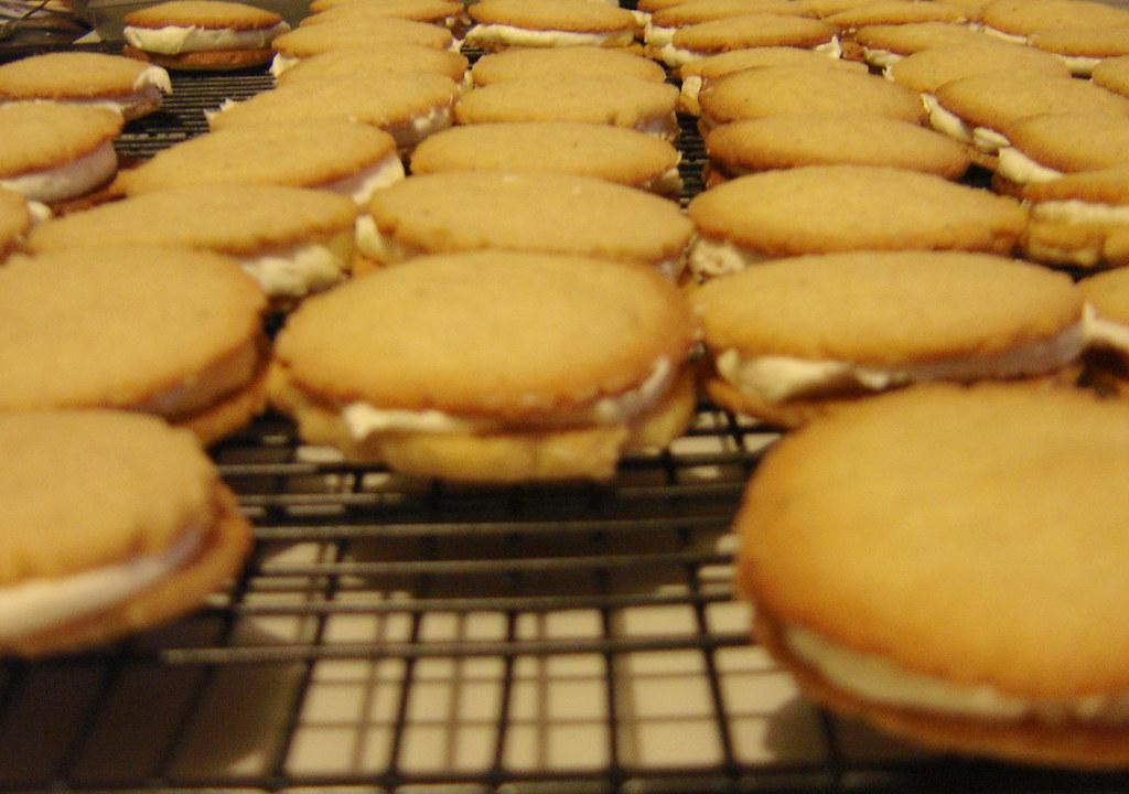 Orange Spice Yo-yos (Sandwich Cookies)