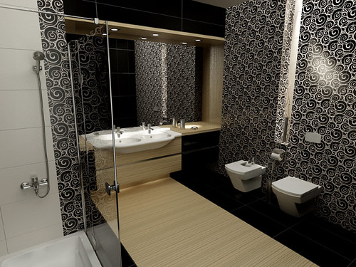 Elegant Bathroom design for Roca producer, by InsideLab
