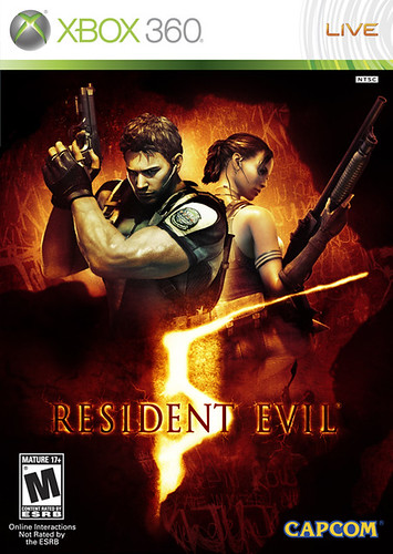Resident Evil 5 Box Art by GamersPlatform.