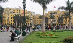 Plaza Mayor Armas Centro Historico Lima Peru