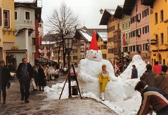 Kitzbhel Austria Snowman (mbell1975) Tags: snow ski mountains alps austria snowman europe skiing resort tyrol kitzbhel tryol