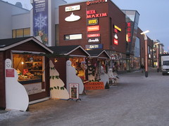 Lordi Square Sampokeskus outdoor shops