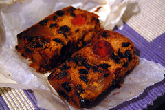Fruitcake Slices