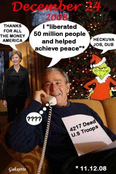 Bush Calls Troops
