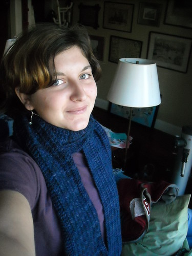 One-Row Malabrigo Scarf