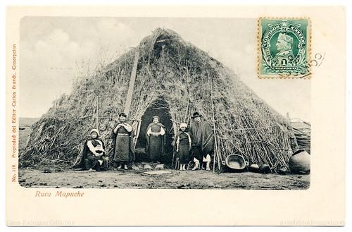 """A Mapuche """"Ruca"""" (1903)"""