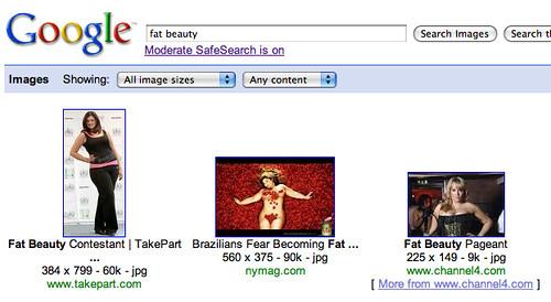 Google Safe Image Search, Not Safe