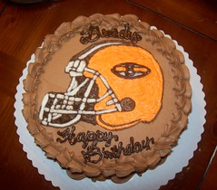 Brady's Cleveland Browns Cake