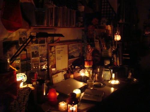 2009/01/01 my room my desk