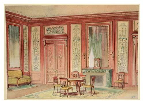 015- Salon estilo Imperio-acuarela 1907