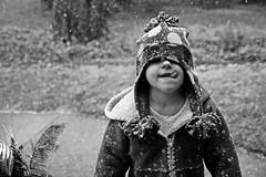 bwbasic (brownscorpios) Tags: snowflake winter bw funnyface snow cold hat coat daughter polkadots snowing basic polkadot magiclight 5yo sherpacoat 1750mmtamron bohemiansecret howcanshesee