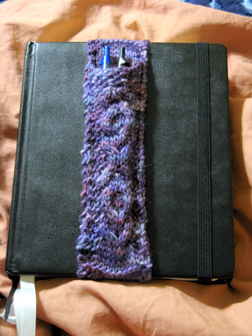 FO: Purple Patronus Pen Pocket