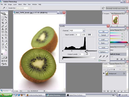 Editing Levels in Photoshop