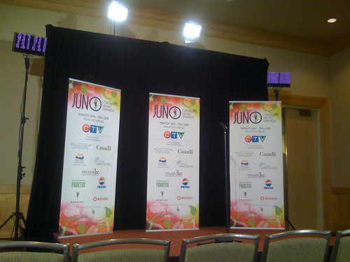 2009 Juno Awards - Media Centre