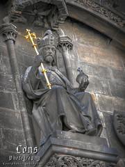 King from Praha (Lons1) Tags: statue king republic czech prague praha hdr prga szobor kirly