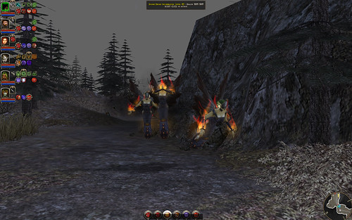 Bound Dryad Incinerator 01 - initial attack 1