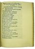Beginning of the Moralis Cantilena [Italian verse] in Pallavicinus, Baptista: Historia flendae crucis et funeris Jesu Christi