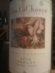 2006 Clos LaChance Merlot