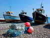 Bere fishing boats (Messent) Tags: devon sea fishing boats beach poetryforall poetryandpicturesinternational haiku albion bere