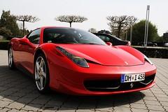 Ferrari 458 Italia (Tim Hoffmann) Tags: ferrari 458 italia tamsen bremen 2010 canon eos 350d timilein wfv