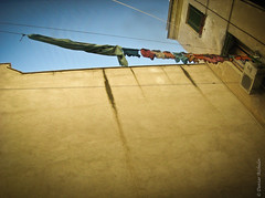Nice view from the hotel (aizhol) Tags: rome wall clotheslines hotelview laundr challengeyouwinner