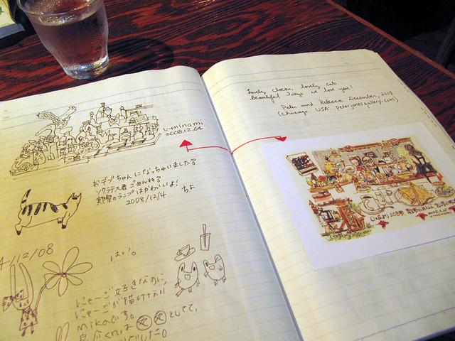 Café Rampo: GuestBook