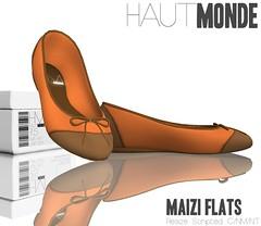 Maizi Flats - Coral Rose