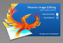 Aviary's Phoenix Splash Screen