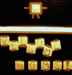 :-) (multi_everything) Tags: brown abstract cute smile happy thankyou letters warmth tape smiley welcome
