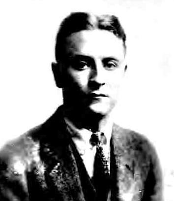 F Scott FitzGerald 1921 - Passport Photo by puzzlemaster.