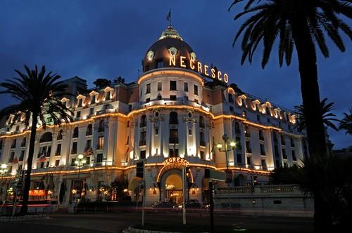 Negresco Hotel, Promenade des Anglais, Nice