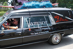 vampire mobile (patti_rose) Tags: houston artcarparade 2008artcarparade