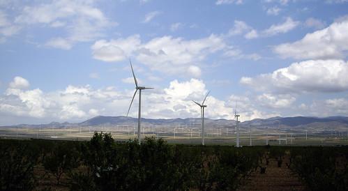 Parque eólico de la comarca del Marquesado