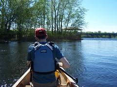 La pointe Nord de l'le St-Quentin (louuiss) Tags: river quebec rivire canoe qubec canot le pleinair troisrivires stmaurice stquentin louuiss