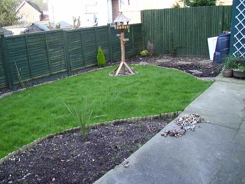 Back garden Feb 2007