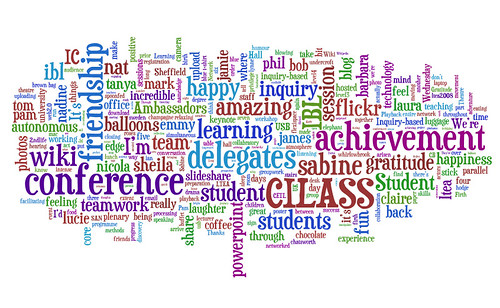 conference tag cloud