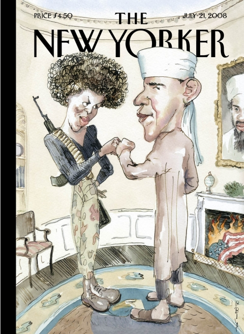 New Yorker Obama cartoon