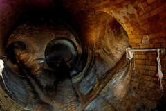Westbourne Drain - London 1 (Guerillaphoto) Tags: urban storm london underground brighton drain relief hidden sewage alias manhole exploration sewer outfall cots tyburn guerillaphotography westbourne urbex bazelgette benieth dsankt