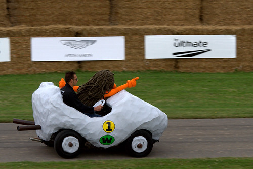 Wacky Races at Goodwood Festival of Speed 2008