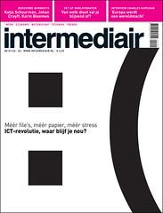 cover design Intermediair magazine (jaap!) Tags: art smile illustration magazine happy photography design graphic cover covers jaap biemans artdirection ict coverdesign artdirector
