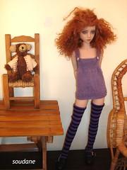 NARAE NARIN DOLL (soudane) Tags: doll handmade bjd msd narin balljointeddolls narae asianballjointeddolls knittedclothes