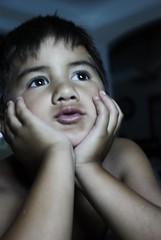 angelo (iamkaras) Tags: summer reflection nikon fingers nighttime protrait 365 angelo philipino watchingamovie d80 365ers iamkaras