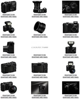 Nikon P6000 high-resolution product views