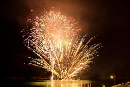 Yunotsu fireworks festival 2008 #1
