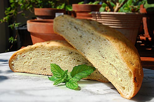 Feta & Mint Bread